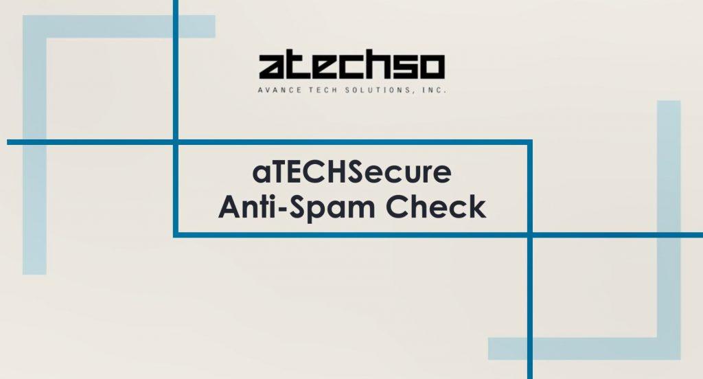 aTECHSecure AntiSpam Tutorial